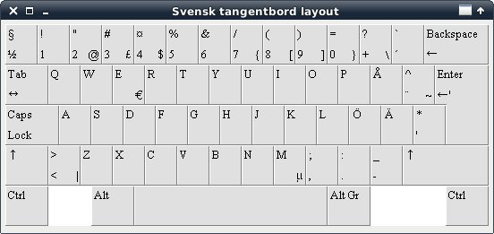 keyboard layout switch