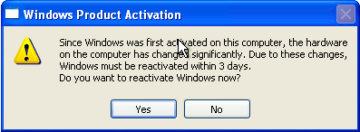 bypass windows xp product activation