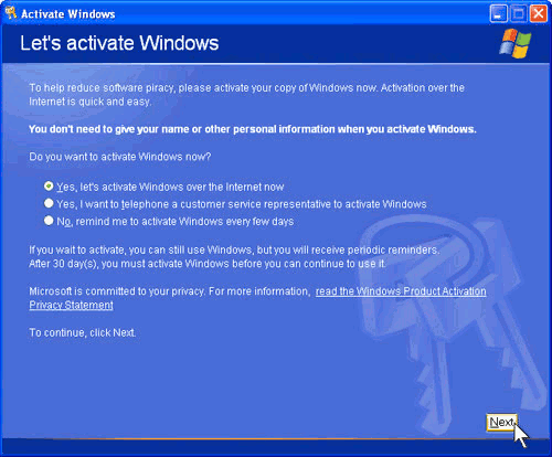 genuine windows xp license keys crack