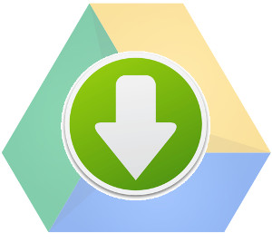 Transparently download from Google Drive