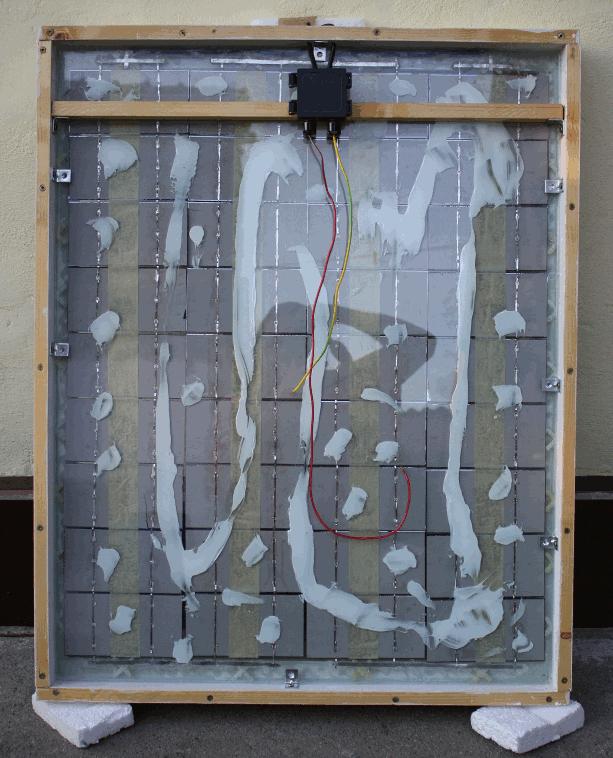 65W solar panel system