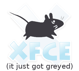 Xfce Desktop grey