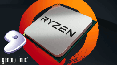 Gentoo AMD Ryzen stabilizator