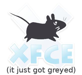 Xfce Desktop grey
